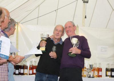Homemade Wine Class Winners